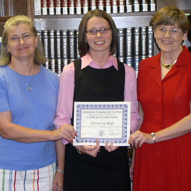 Wade H and Annie P Stephenson Family Endowment - Sue Moore, Chirstina Wall, Brenda Abbott.JPG